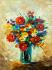 Renkli Çiçek Buketi k0
