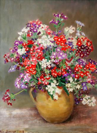 Renkli Çuha Çiçeği resim