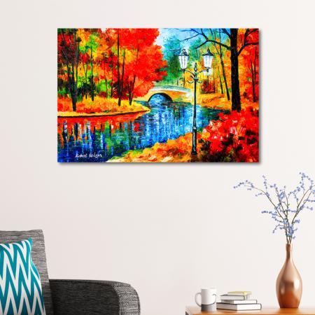 Renkli Doğa Manzarası resim2