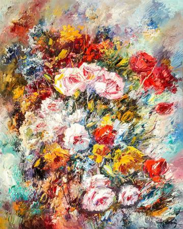 Renkli Güller resim