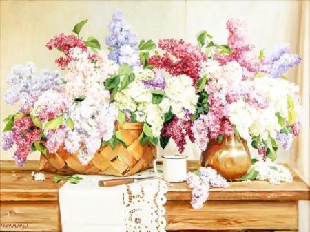 Renkli Sümbüller resim