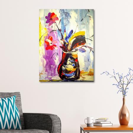 Renkli Vazo resim2