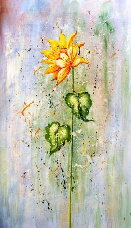 Sarı Çiçek resim