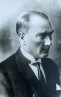Siyah Beyaz Atatürk Portresi - ATA-C-979