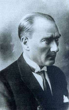 Siyah Beyaz Atatürk Portresi 0
