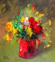 Soyut Çiçek - CT-C-102
