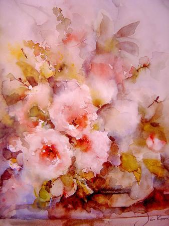 Soyut Çiçek resim