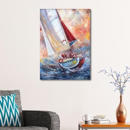 Teknede Üç Denizci resim2