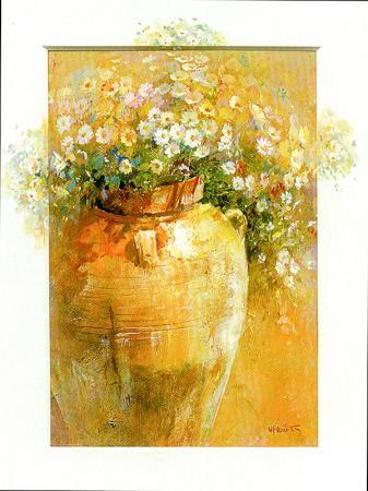 Testideki Çiçekler resim