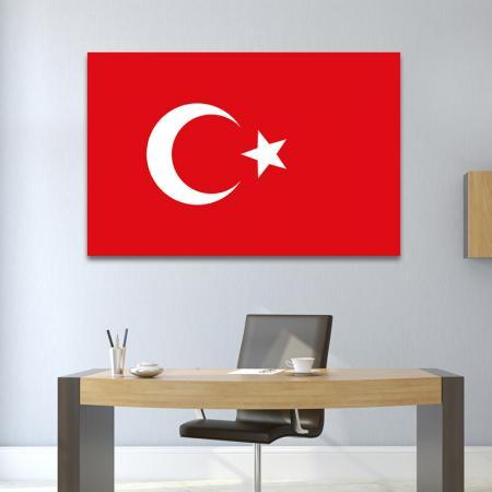 Türk Bayrağı Tablosu resim2