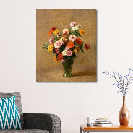 Vazodaki Bahar Çiçekleri resim2