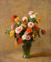 Vazodaki Bahar Çiçekleri - CT-C-031
