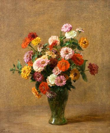Vazodaki Bahar Çiçekleri resim