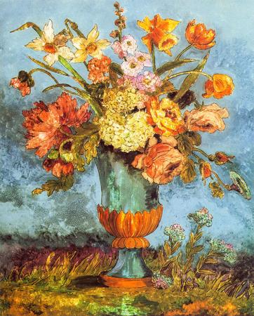 Vazodaki Çiçekler 0