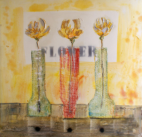 Vazodaki Çiçekler - CT-C-275