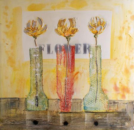 Vazodaki Çiçekler resim