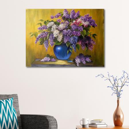 Vazodaki Mor Sümbüller resim2