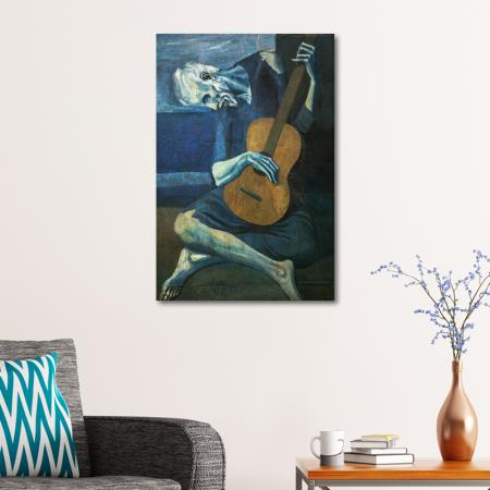 Yaşlı Gitarist - Old Guitarist resim2