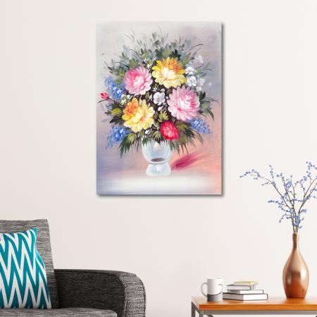Yumuşak Tonlu Çiçekler resim2