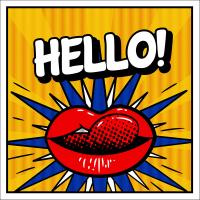 Hello Popart  - PT-C-001