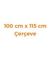 100 cm x 115 cm Çerçeveler