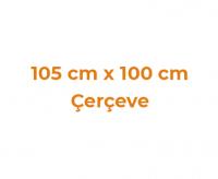 105 cm x 100 cm Çerçeveler