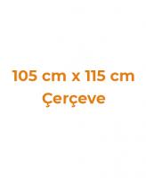 105 cm x 115 cm Çerçeveler