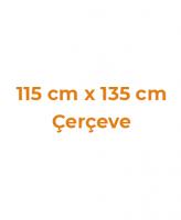 115 cm x 135 cm Çerçeveler
