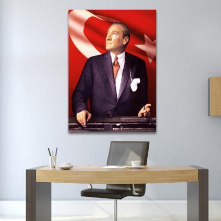Atatürk ve Bayrak resim2