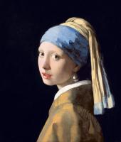 İnci Küpeli Kız - Girl with a Pearl Earring - UR-C-315