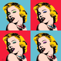 Marilyn Monroe Pop Art - PT-C-016