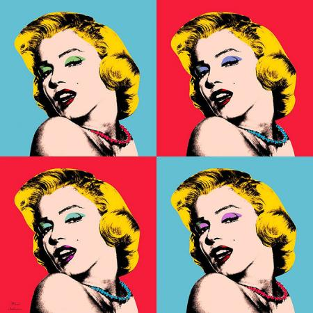 Marilyn Monroe Pop Art resim