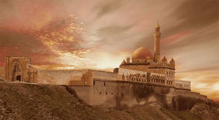 İshak Paşa Sarayı Doğubeyazıt resim