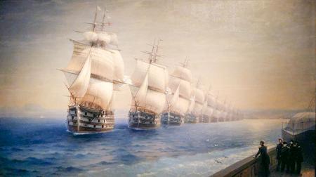 Karadeniz Donanmasının Teftişi resim