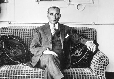 Atatürk Vapurda resim