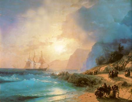 Crete Adasında resim