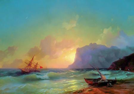 Deniz Köktebel Körfezi resim