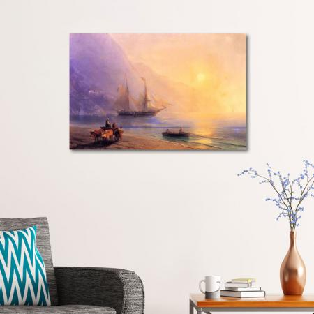Kırım Sahilinde Erzak Yüklemesi resim2
