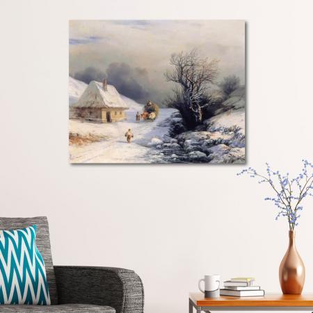 Kışın Küçük Rusya Kağınısı resim2