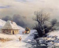 Kışın Küçük Rusya Kağınısı - AIK-C-069