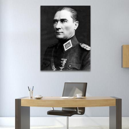 Mareşal Üniformalı Atatürk Portresi resim2