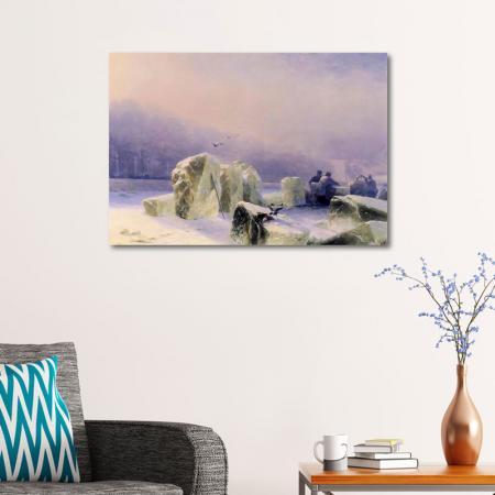 Neva Nehrinde Buz Kıranlar resim2