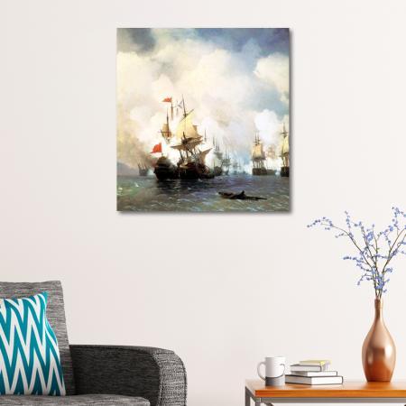 Sakız Adasında Deniz Savaşı resim2