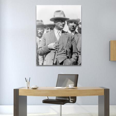 Siyah Beyaz Atatürk resim2