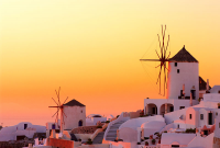 Greek Islands Sunset - IMB-C-094