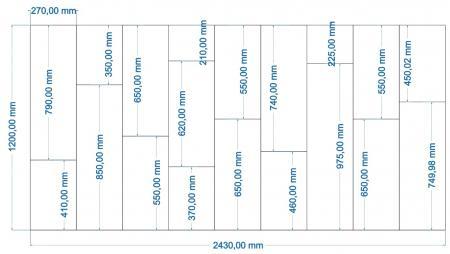 Tuğla Model - 1200 X 2400 cm  resim