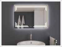 AYAZ10DL Dokunmatik Mercekli Buğu Önleyicili Işıklı Ayna - 75 X 120 cm - AYAZ10DL75120MR