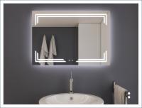 AYAZ10DL Dokunmatik Buğu Önleyicili Işıklı Ayna - 75 X 100 cm - AYAZ10DL75100R