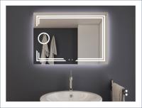 AYAZ11DL Dokunmatik Mercekli Buğu Önleyicili Işıklı Ayna - 75 X 120 cm - AYAZ11DL75120MR