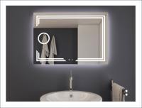 AYAZ11DL Dokunmatik Mercekli Işıklı Ayna - 60 X 80 cm - AYAZ11DL6080M